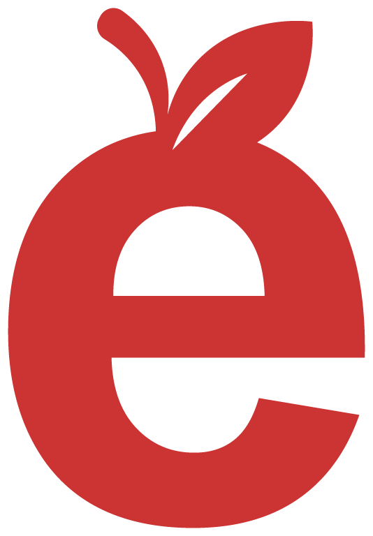 E apple logo from myPTEZ main logo